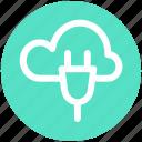 .svg, cloud computing, cloud computing concept, cloud internet connection, cloud network connection, cloud socket