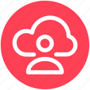 .svg, cloud computing, cloud internet connectivity, cloud internet usage, cloud internet user, cloud network icon