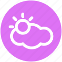 .svg, cloud, cloud sun, icloud, sun, sunlight, weather icon