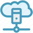 cloud, cloud computing, cloud data, database, server, storage icon