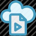 cloud, cloud page, document, media, page, paper
