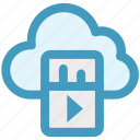 cloud computing, cloud computing concept, cloud music, cloud networking, music, music on cloud icon