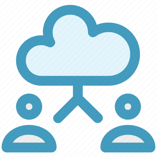 account, cloud, cloud computing, computing, men, user icon