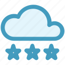 cloud, cloud ice, ice, snow, weather, winter icon