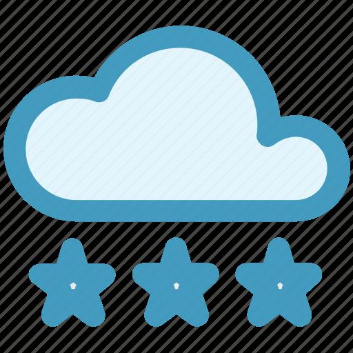 cloud, cloud ice, ice, snow, weather, winter icon