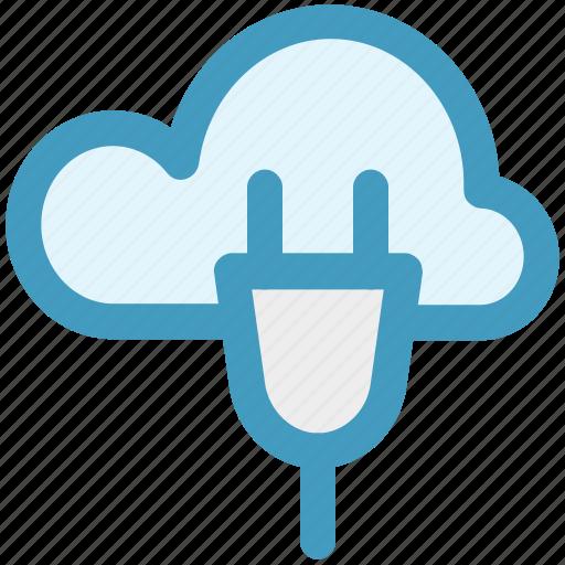 cloud computing, cloud computing concept, cloud internet connection, cloud network connection, cloud socket icon