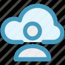 cloud computing, cloud internet connectivity, cloud internet usage, cloud internet user, cloud network icon