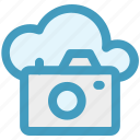 camera, cloud, image, multimedia, photo, picture icon icon