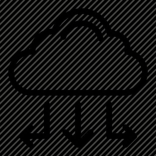 Cloud, database, server, storage icon - Download on Iconfinder