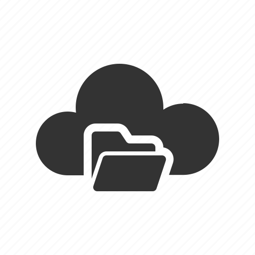 Cloud, cloud computing, computing, file, folder icon - Download on Iconfinder