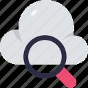 cloud, computing, cloud internet, cloud internet searching, cloud-based search engine, internet search engine, search service in cloud icon