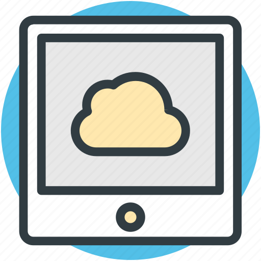 cloud network, mobile drive, mobile internet, wireless communication, wireless network icon