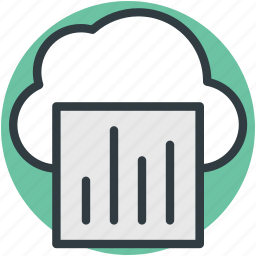 cloud computing, cloud infographic, infographic library, online graphs, statistics icon
