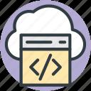 cloud html, cloud programming, cloud computing, cloud coding, html coding
