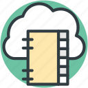 cloud computing, digital storage, online docs, online notes, sky docs icon