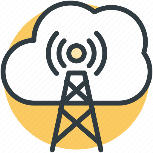 cloud connection, cloud network, cloud service, wireless internet, wireless networking icon