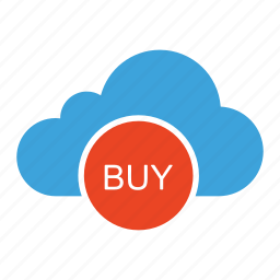 buy now, cloud computing, cloud storage, online shop, purchase, shop, shopping icon