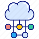 cloud, connection, computing, icloud, network