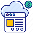 browser, cloud, webpage, based, consumption, pricing, service