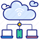 cloud, network, big, data, connect, internet