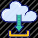 download, arrow, down, cloud, data, storage, share, server