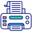 local, printing, fax, paper, print, printer, text, office
