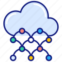 cloud, network, computing, connection, share, connect