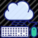 cloud, computing, hosting, internet, keyboard, network