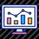analytics, chart, earnings, sales, report, statistics, stats