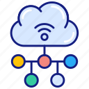 cloud, computing, connection, network, share, internet