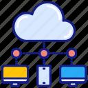 cloud, server, infrastructure, data, storage, hosting