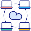 data, sharing, cloud, connect, network, traffic