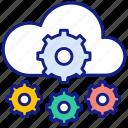 settings, cloud, paas, platform, server, service, data