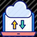 synchronize, cloud, sync, computing, update, storage