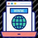 internet, article, layout, blogs, web, sitemap, text, laptop