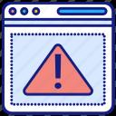 alert, message, web, notification, warning, page