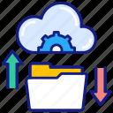 data, sharing, cloud, exchange, folder, transfer