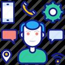 communication, user, profile, social, connections, conversation, discuss