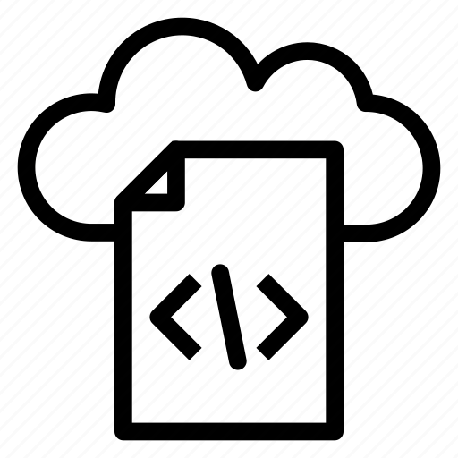 Development, cloud, communication, cloudy, rain, internet icon