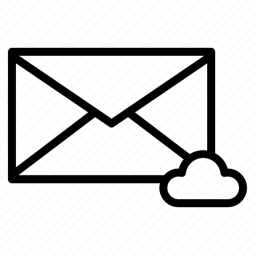 Backup, cloud, email, envelope, mail icon - Download on Iconfinder