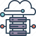 cloud hosting, connectivity, database, hosting, server, storage, technology