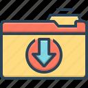 document, download, download folder, folder, organize, storage, transfer