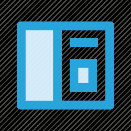 data, graph, monitoring, statistics icon