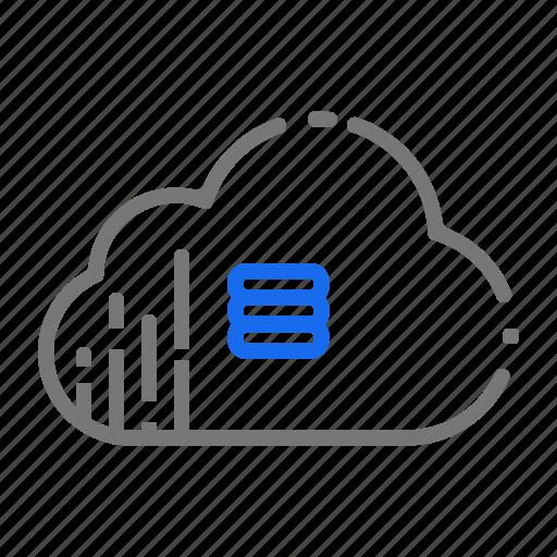 Cloud, computing, database, server, services, storage icon - Download on Iconfinder
