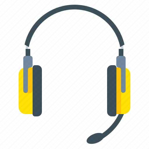 center, communication, contact, headset icon