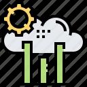 analysis, cloud, graph, processing, setup