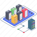 big data server, data server, data server center, databank, datacenter, dedicated server, server hosting icon