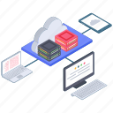 cloud computing, cloud connected devices, cloud connection, cloud network, cloud service, cloud technology icon