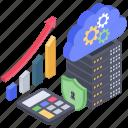 big data analytics, databank analytics, database analytics, database analytics management, secure database analytics icon