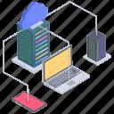 cloud computing, cloud connected devices, cloud connection, cloud hosting service, cloud network, cloud technology icon